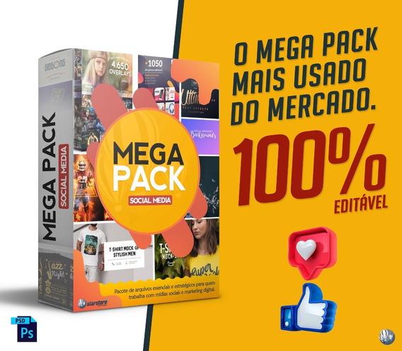 Mega Pack - Social Media - Envio Automático Imediato