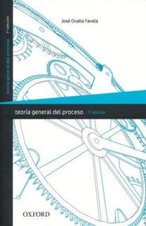 Teoría General Del Proceso 7a. Ed. - Ovalle Favela - Nuevo