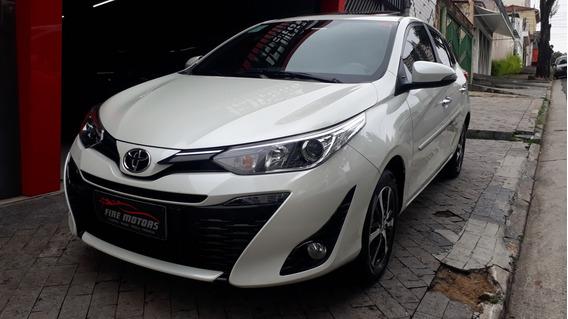 Toyota Yaris Xls 1.5 Automatico 2019 Top De Linha