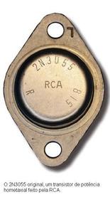 Transistor 2n3055 Original Usado Antigo Vintage - 2 Pares