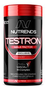 Testron Male Factor Precursor Hormonal 120 Cápsulas Nutrends