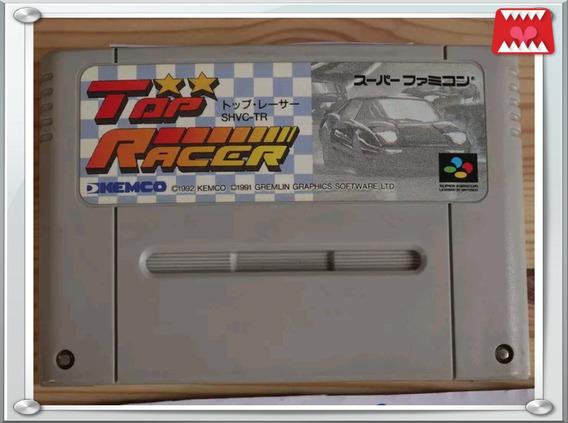 Cartucho Top Racer (top Gear) Original Super Famicom/ Snes