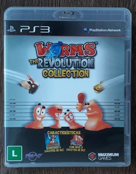 Worms: The Revolution Collection - Ps3