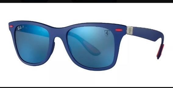 Gafas De Sol Rayban Escudería Ferrari F1 Wayfarer Lite Force