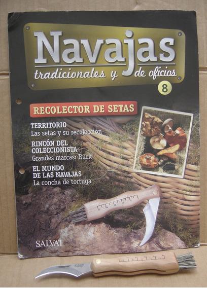 Navajas Tradicionales Y De Oficios Nº 8 Recolector De Setas