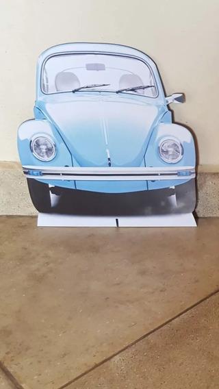 Display Fusca Azul Mdf