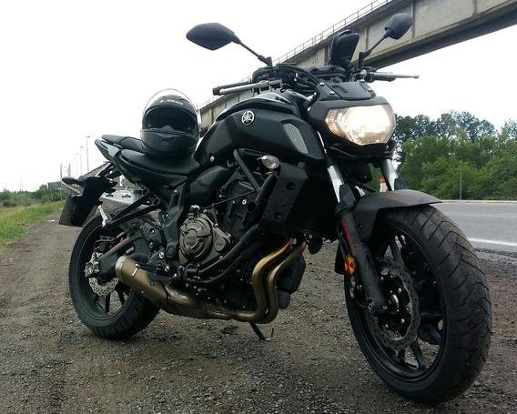 Yamaha Mt07