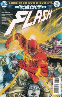 Comic Dc Universe Rebirth Flash # 15 Corriendo Con Miedo