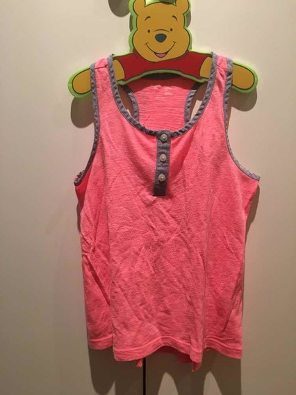 Remera Tipo Musculosa Gap Kids Talle 6-7 Años Muy Linda