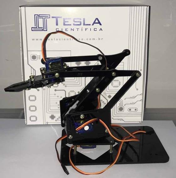 Braço Robótico Arduíno - Completo
