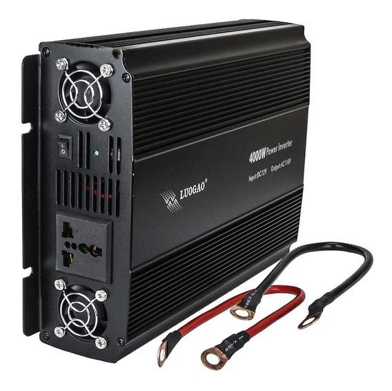Inversor Tensão 4000w 12v Para 110v Transformador Conversor