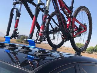 Rack De Succión Rockbros Para Dos Bicicletas
