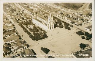 Cartão Postal Antigo Taubaté Sp Santuário Santa Terezinha