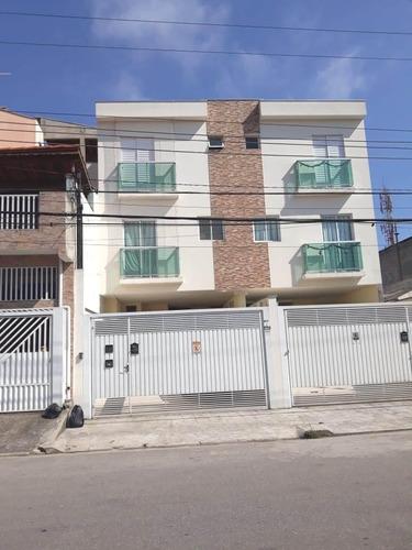 Imagem 1 de 14 de Ótimo Sobrado À Venda, 2 Suítes, 3 Vagas - Vila Pires - Santo André - 50751