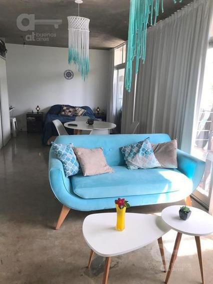 Villa Urquiza. Moderno Loft Con Doble Balcón. Alquiler Temporario Sin Garantías.