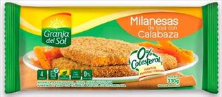 Milanesa Soja Y Calabaza - Granja Del Sol - Congelado
