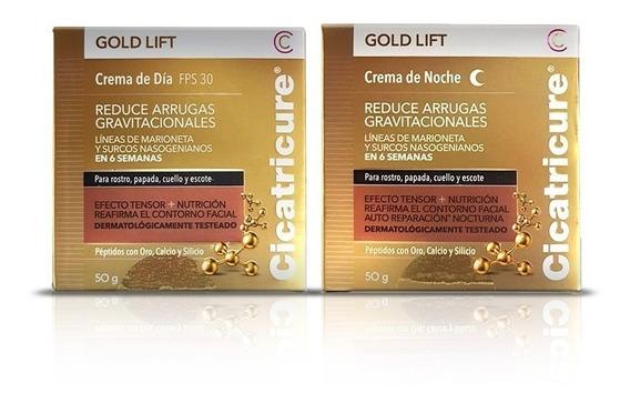 Cicatricure Gold Lift Crema De Dia Fps30 + Crema Noche