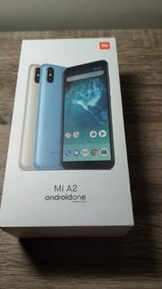 Xiaomi Mi A2 - 128gb - Global - Azul (com Pelíc. E Capinha)
