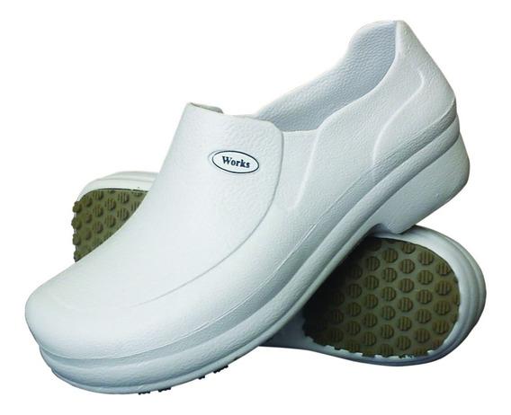 Sapato Calçado Anti Derrapante Cozinha Restaurante Works