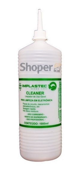 Cleaner Limpador E Desoxidados D Uso Geral 1l Implastec + Nf