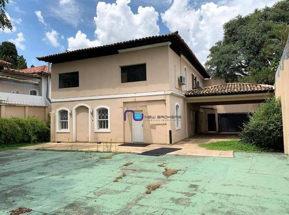 Casa Para Alugar, 331 M² Por R$ 19.000/mês - Jardim Everest - São Paulo/sp - Ca0484