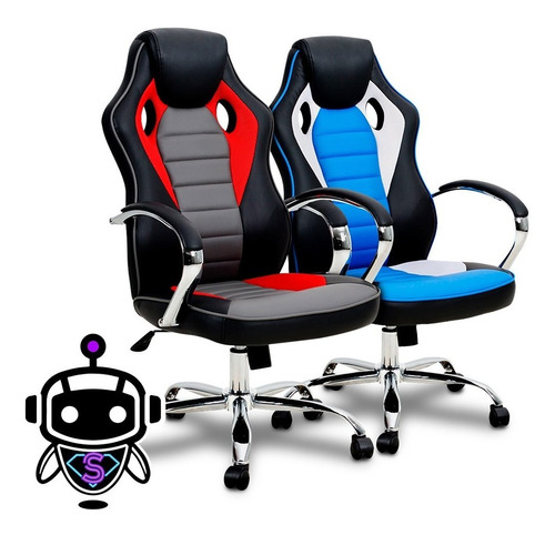 Imagen 1 de 4 de I M P O R T A D A S Silla Gamer Nibio Reclinable Rookie