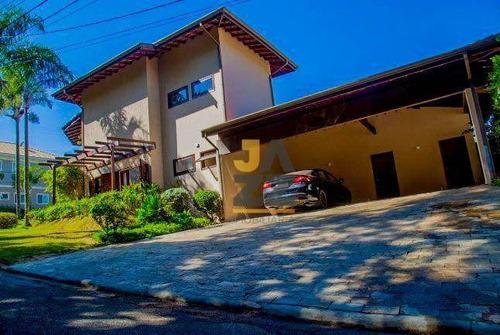 Imagem 1 de 30 de Extraordinária Casa À Venda, Condomínio Residencial Estância Paraíso, Campinas - Ca14496