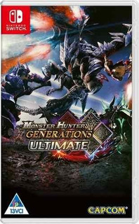 Juego Nintendo Switch Monster Hunter Generations Ultimate