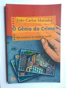 Livro O Gênio Do Crime João Carlos Marinho Envio Incluso