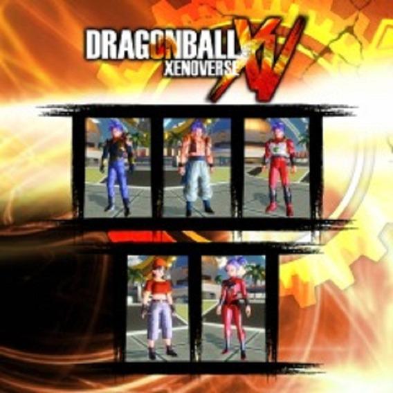 Dlc Dragon Ball Xenoverse Gt Pack 2 Ps3 Envio Imediato Br