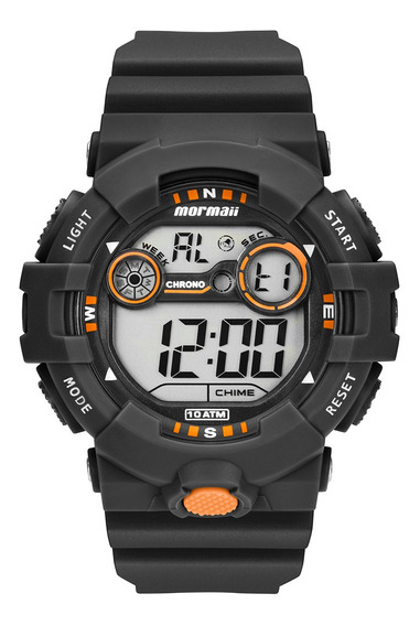 Relógio Digital Mormaii Action Mo3610aa/8l
