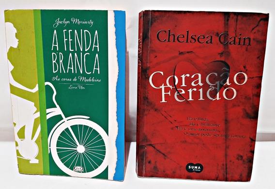Livros Coração Ferido + A Fenda Branca / (romance +juvenil)