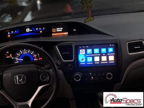 Imagen 1 de 1 de Radio Android Gps Wifi Para Honda Civic 2012-13-14-2015-2016