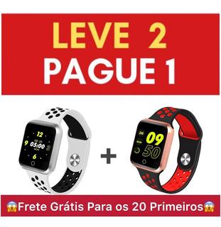 Relógio Smartwatch Inteligente Zgpax (pague 1 Leve 2