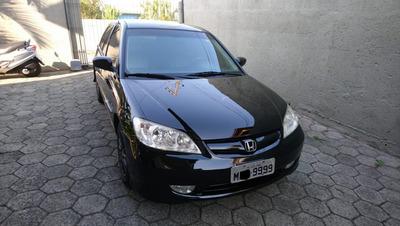 Honda Civic Ex 06 Top De Linha, Excelente Estado