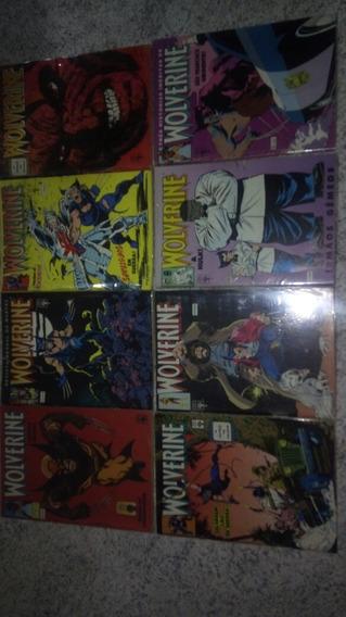 Wolverine Coleçao Completa + Encadernado De Brinde.