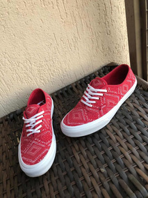 Tênis Vans Autenthic Vermelho