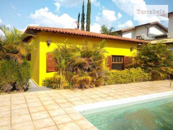 Casa Com 3 Dormitórios Para Alugar, 280 M² Por R$ 2.200/mês - Vista Alegre - Vinhedo/sp - Ca0244
