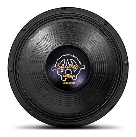 Alto Falante Woofer Spyder Kaos Bass 12 Pol 350w Rms 4 Ohms
