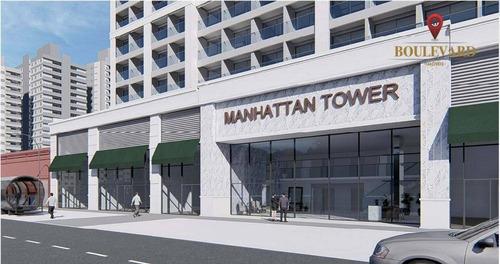 Studios Manhattan Tower, À Venda A Partir De R$ 212.905 - Centro - Curitiba/pr - St0014