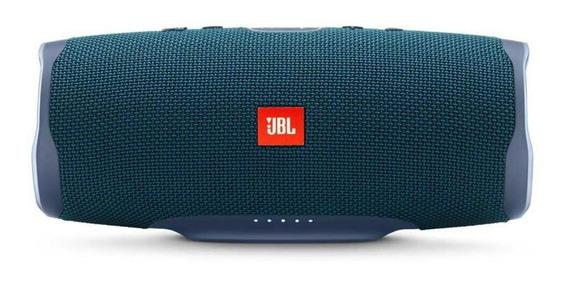 Caixa de som JBL Charge 4 portátil sem fio Blue
