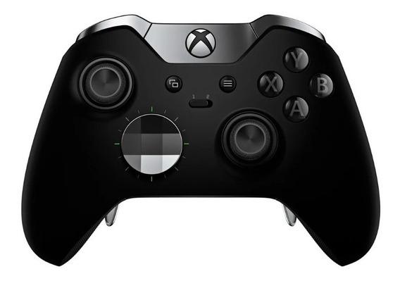 Controle Xbox One Elite Preto Wireless Original Na Caixa