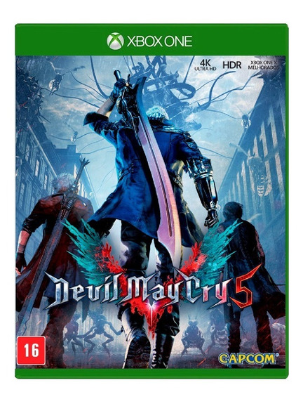 Devil May Cry 5 - Xbox One - Lacrado - Frete Gratis