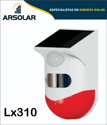 Alarma De Seguridad Solar