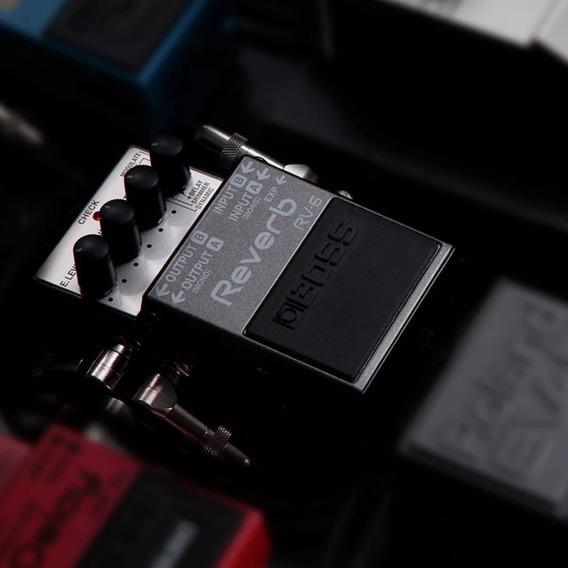 Pedal Digital Reverb Boss Rv-6 Para Guitarra Efeito Shimme