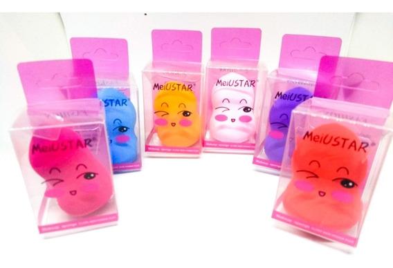 Kit Com 12 Esponja Para Maquiagem Atacado Para Revenda