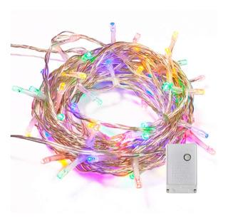 Guirnalda Luces Navidad Led 8 Metros 100 Led Multicolor