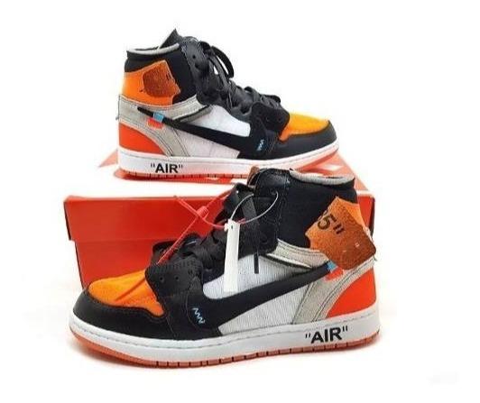 Tênis Importado Air Jordan 1 Off White + Frete Grátis