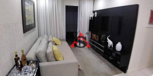 Apartamento Com 3 Dormitórios À Venda, 85 M² Por R$ 780.000,00 - Vila Vermelha - São Paulo/sp - Ap43283