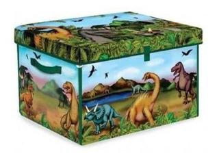 Caja De Juguetes De Coleccionista De Dinosaurios Zipbin 160